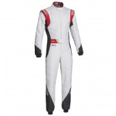 Sparco Eagle RS-8.2 FIA Racing Suit - White & Red