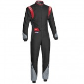 Sparco Eagle RS-8.2 FIA Racing Suit - Black & Red