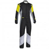 Sparco Grip RS-4 FIA Racing Suit - Black & Yellow