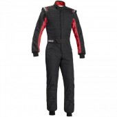 Sparco Sprint RS-2.1 FIA Racing Suit - Black & Red