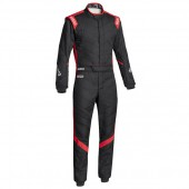 Sparco Victory RS-7 FIA Racing Suit - Black & Red