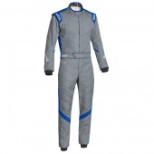 Sparco Victory RS-7 FIA Racing Suit - Grey & Blue