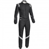 Sparco Victory RS-7 FIA Racing Suit - Black & Grey
