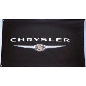 Drapeau Chrysler Noir (150 x 85 cm)
