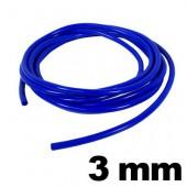 Silicone Hose 3 mm - Blue