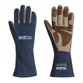Sparco Land Classic Gloves - Navy (FIA)