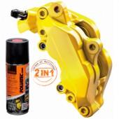 Foliatec Aerosol Yellow Brake Caliper Paint