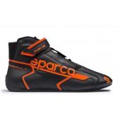 Sparco Formula RB-8.1 Shoes - Black & Orange (FIA)