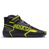 Sparco Formula RB-8.1 Shoes - Black & Yellow (FIA)