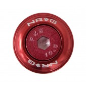"Kit ""Fender Washer"" NRG, Rouge, M6 (lot de 10)"