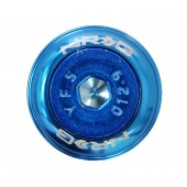 "Kit ""Fender Washer"" NRG, Bleu, M8 (lot de 8)"
