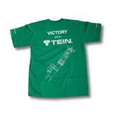 T-Shirt Tein Vert Taille L