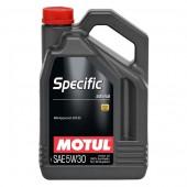 5L Huile Motul 5W30 Specific 229.52 (Mercedes)