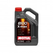 5L Huile Motul 0W40 8100 X-Max (BMW, Mercedes, Porsche, Ford, VAG)
