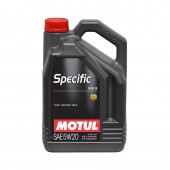 5L Huile Motul 5W20 Specific 948B (Ford Eco-Boost, Jaguar, Chrysler, Jeep)