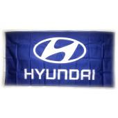 Drapeau Hyundai Bleu (150 x 75 cm)