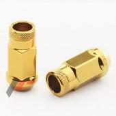 JN1 Gold Steel Wheel Nuts M12x1,25 (Pack of 20)