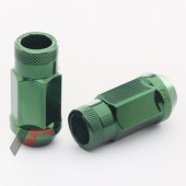 JN1 Forged Steel Wheel Nuts - Green M12x1.5 (Pack of 20)