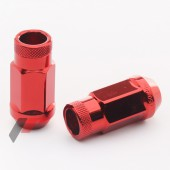 JN1 Red Steel Wheel Nuts M12x1,5 (Pack of 20)