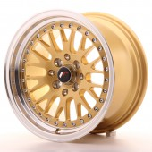 "Japan Racing JR-10 15x8"" 4x100/108 ET20, Gold"