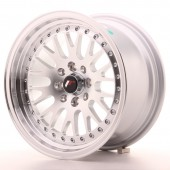 "Japan Racing JR-10 15x8"" 4x100/108 ET20, Silver"