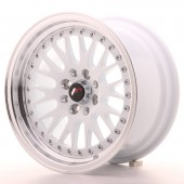 "Japan Racing JR-10 15x8"" 4x100/108 ET20, White"