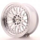 "Japan Racing JR-10 16x8"" 5x100/114.3 ET10, Silver"