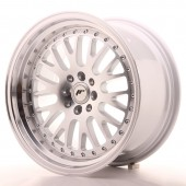 "Japan Racing JR-10 17x9"" 5x100/114.3 ET25, Silver"