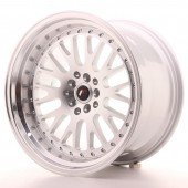 "Japan Racing JR-10 18x10.5"" 5x112/114.3 ET12, Silver"