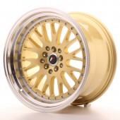 "Japan Racing JR-10 18x10.5"" 5x112/114.3 ET25, Gold"