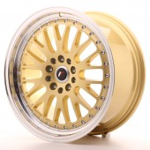 "Japan Racing JR-10 18x8.5"" 5x112/114.3 ET45, Gold"