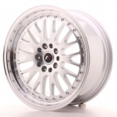 "Japan Racing JR-10 18x8.5"" 5x112/114.3 ET45, Silver"