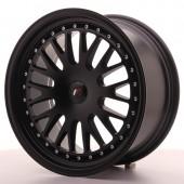 "Japan Racing JR-10 18x8.5"" (4 & 5 hole custom PCD) ET20, Flat Black"