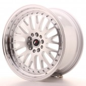 "Japan Racing JR-10 18x9.5"" 5x112/114.3 ET40, Silver"