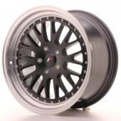 "Japan Racing JR-10 18x9.5"" (4 & 5 hole custom PCD) ET20, Flat Black"