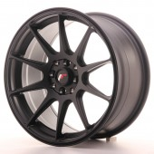 "Japan Racing JR-11 17x8.25"" 5x100/108 ET35, Noir Mat / Satiné"