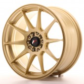 "Japan Racing JR-11 17x8.25"" 5x100/108 ET35, Or / Doré"