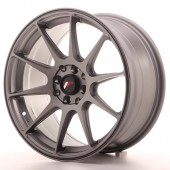 "Japan Racing JR-11 17x8.25"" 5x100/108 ET35, Gunmetal"