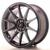 "Japan Racing JR-11 18x8.5"" 4x108/114.3 ET30, Hyper Black"