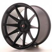 "Japan Racing JR-11 Extreme Concave 19x11"" (5 trous - sur mesure) ET20, Noir Mat / Satiné"