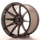 "Japan Racing JR-11 Extreme Concave 19x11"" (5 trous - sur mesure) ET20, Bronze"