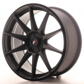"Japan Racing JR-11 19x8.5"" (5 hole custom PCD) ET35-40, Flat Black"