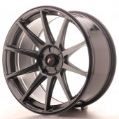 "Japan Racing JR-11 Extreme Concave 19x9.5"" (5 hole custom PCD) ET35, Hyper Black"