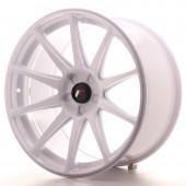 "Japan Racing JR-11 Extreme Concave 19x9.5"" (5 hole custom PCD) ET35, White"