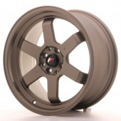 "Japan Racing JR-12 17x8"" 5x100/114.3 ET33, Bronze"