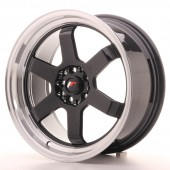 "Japan Racing JR-12 17x8"" 5x100/114.3 ET33, Gloss Black"