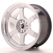 "Japan Racing JR-12 18x9"" 5x112/114.3 ET30, Silver"