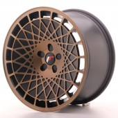 "Japan Racing JR-14 18x9.5"" (5 trous - sur mesure) ET40, Bronze"