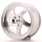 "Japan Racing JR-15 17x8"" (4 & 5 hole custom PCD) ET35, Silver"