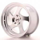 "Japan Racing JR-15 17x9"" (4 & 5 hole custom PCD) ET25, Silver"